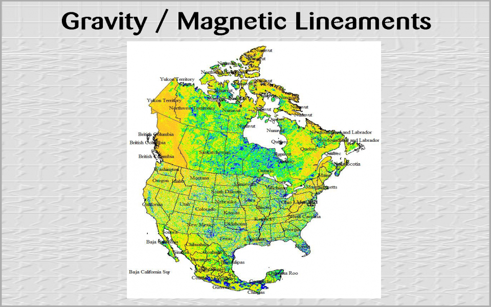 Gravity / Magnetic Lineaments (4)